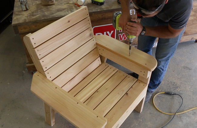 Best ideas about DIY Lawn Furniture . Save or Pin DIY Patio Chair Plans and Tutorial Step by Step Videos Now.