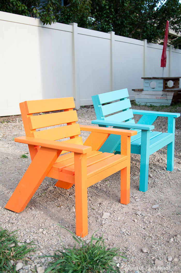 Best ideas about DIY Lawn Furniture . Save or Pin Easy DIY Kids Patio Chairs a Houseful of Handmade Now.