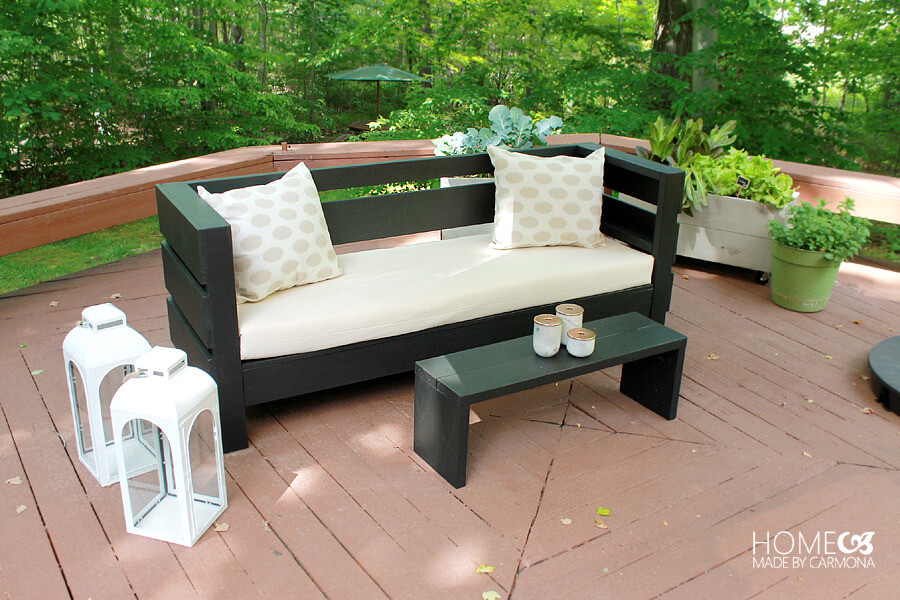 Best ideas about DIY Lawn Furniture . Save or Pin Outdoor Furniture Build Plans Home Made By Carmona Now.