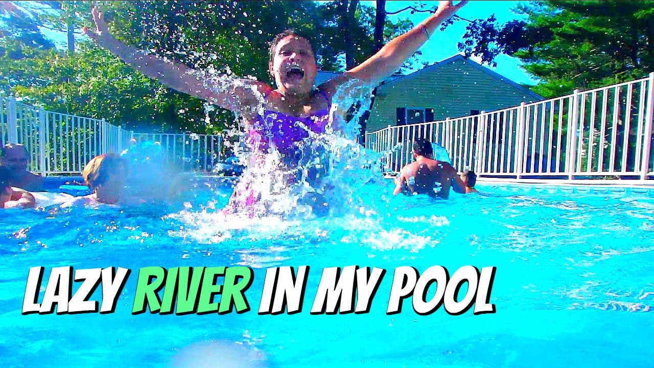 Best ideas about DIY Lazy River . Save or Pin DIY Lazy River Pool Now.