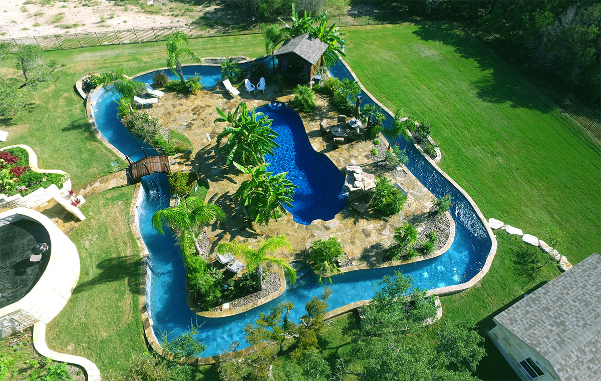 Best ideas about DIY Lazy River . Save or Pin LONESTAR FIBERGLASS POOLS Lonestar Fiberglass Pools Now.