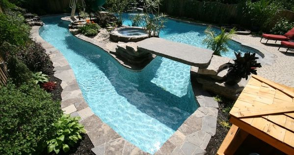 Best ideas about DIY Lazy River . Save or Pin So much you can do with the island in a lazy river pool Now.