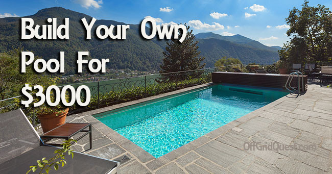 Best ideas about DIY Lazy River . Save or Pin This Guy Built His Own In Ground Pool For $3000 With Now.