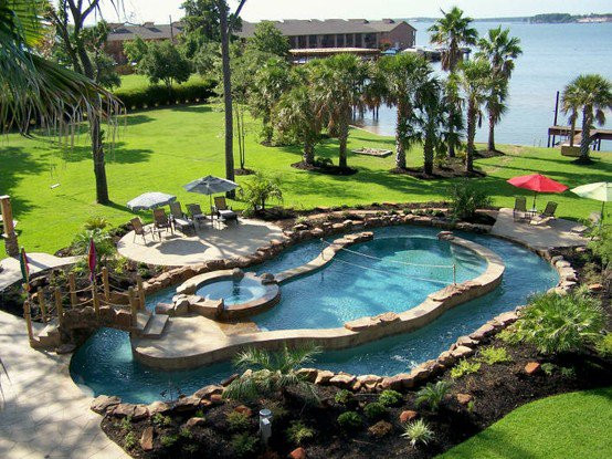 Best ideas about DIY Lazy River . Save or Pin Diy backyard lazy river Now.
