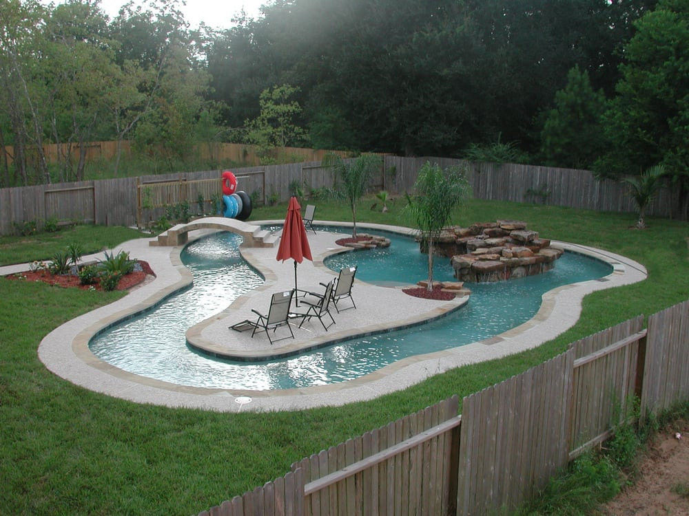 Best ideas about DIY Lazy River . Save or Pin Your own personal lazy river in your backyard Now.