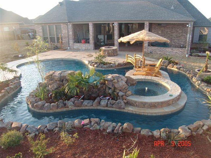 Best ideas about DIY Lazy River . Save or Pin Lazy River Pool Home Ideas 31 dream pools Now.