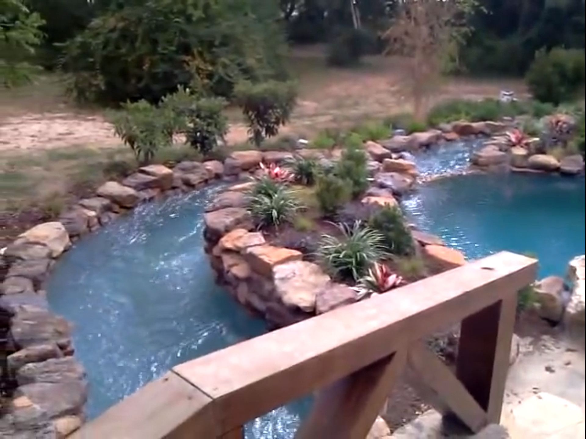 Best ideas about DIY Lazy River . Save or Pin Backyard Lazy River Now.