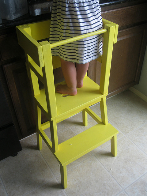 Best ideas about DIY Learning Tower . Save or Pin Remodelaholic Now.