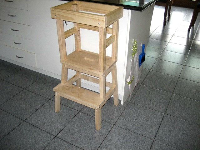 Best ideas about DIY Learning Tower . Save or Pin Jack s DIY Learning Tower how we montessori Now.