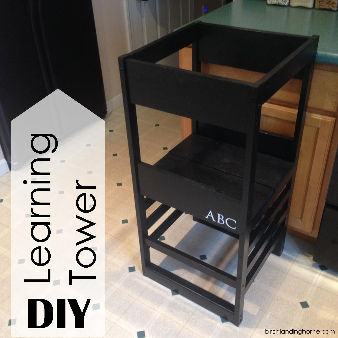 Best ideas about DIY Learning Tower . Save or Pin Hometalk Now.
