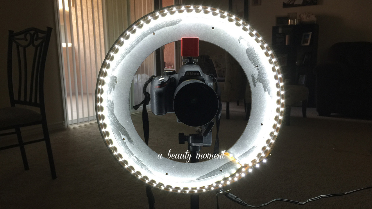 Best ideas about DIY Led Ring Light . Save or Pin A Beauty Moment DIY RING LIGHT Now.