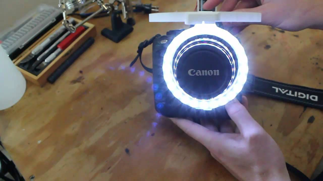 Best ideas about DIY Led Ring Light . Save or Pin DIY Canon Ring Light Now.