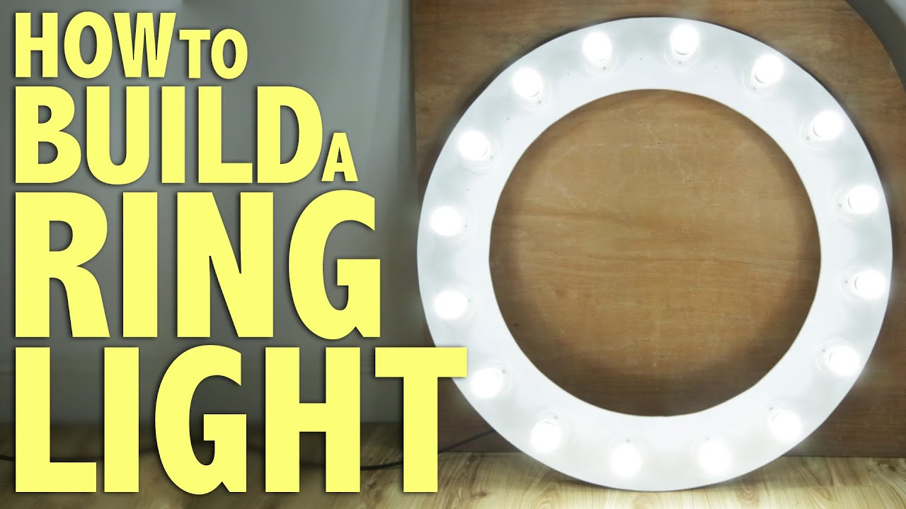 Best ideas about DIY Led Ring Light . Save or Pin How to build a Ring Light DIY graphy Tutorial Now.