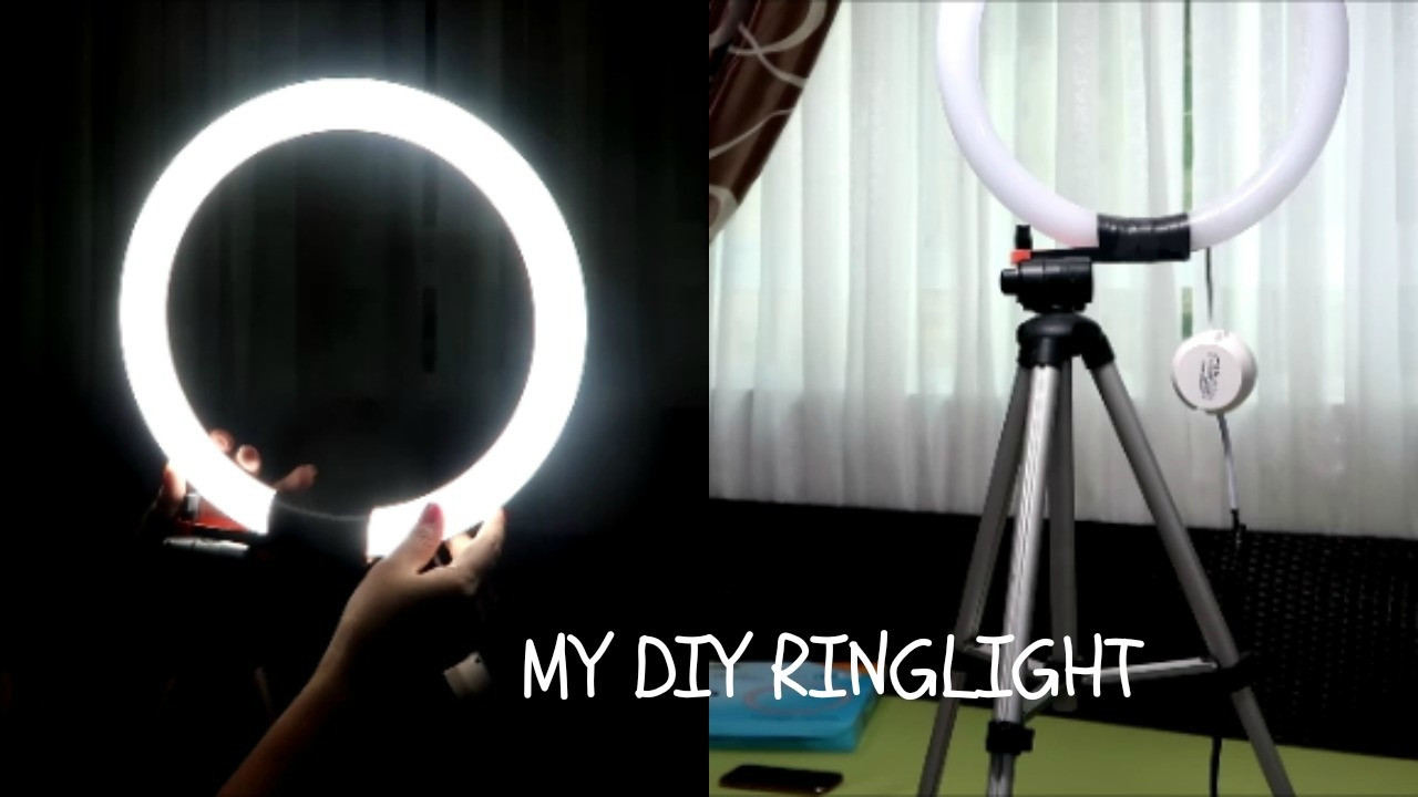 Best ideas about DIY Led Ring Light . Save or Pin lizzintertainment 38 DIY RING LIGHT FEBRUARY 1 2017 Now.