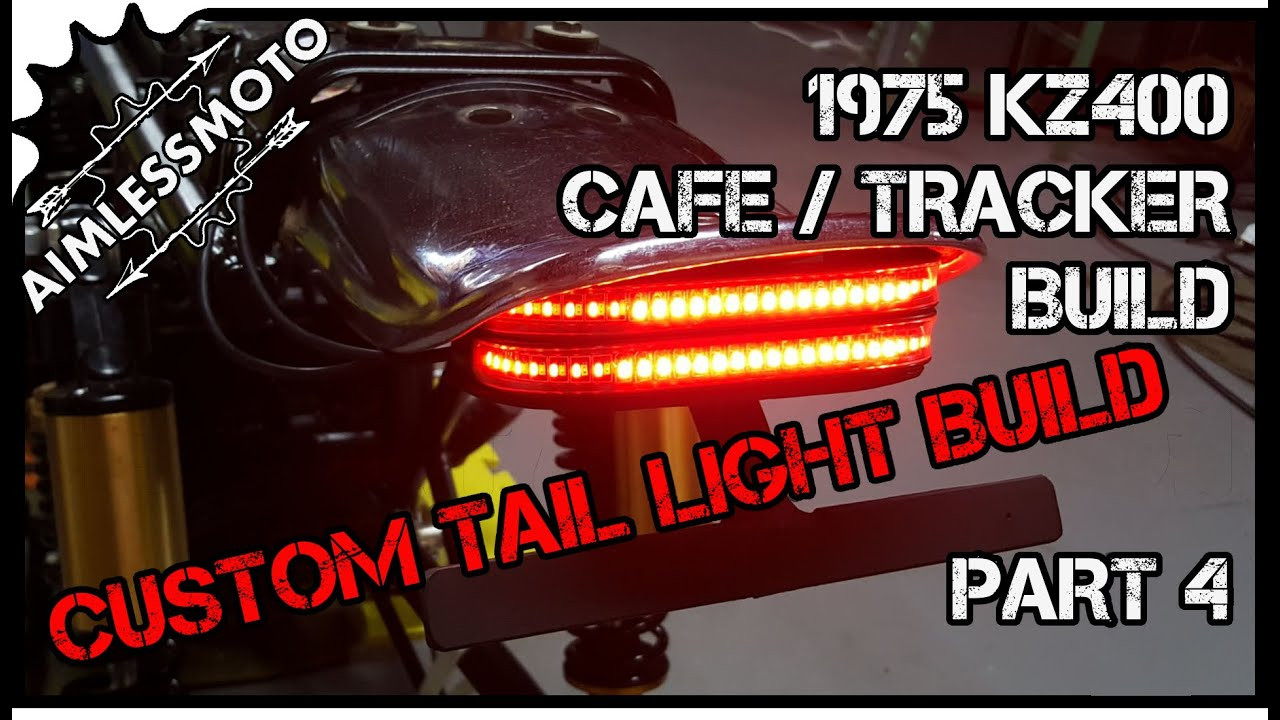 Best ideas about DIY Led Taillight . Save or Pin DIY LED Tail Light KZ400 Tracker Build Now.