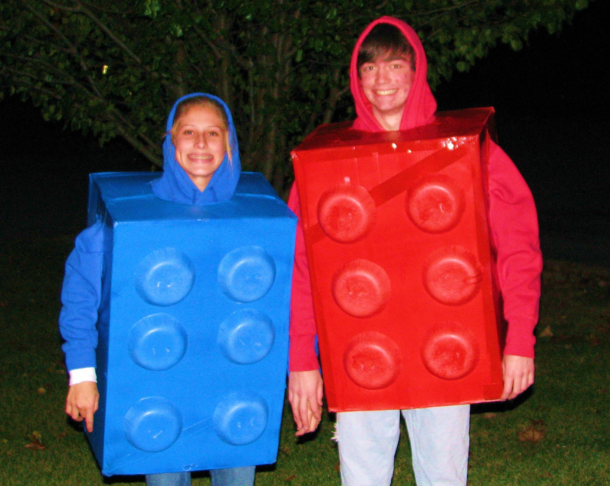 Best ideas about DIY Lego Costume . Save or Pin LEGO Halloween Costume using recycled materials Now.