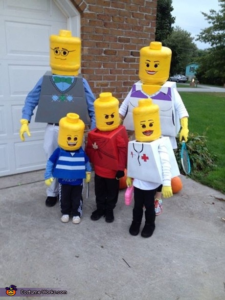 Best ideas about DIY Lego Costume . Save or Pin 50 Creative Family Costume Ideas Now.