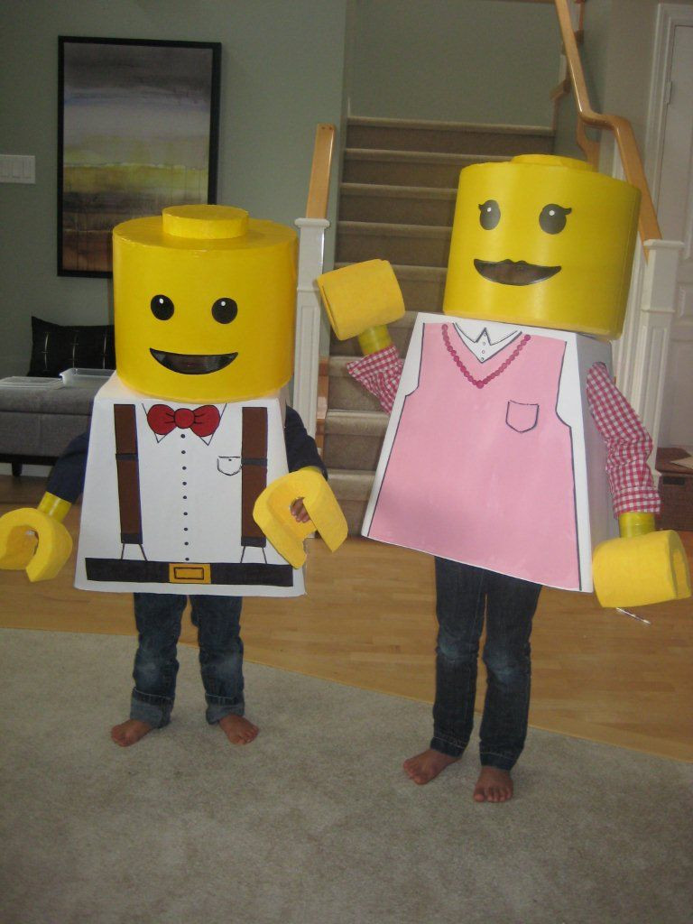 Best ideas about DIY Lego Costume . Save or Pin DIY kids lego costumes Cuteness Now.