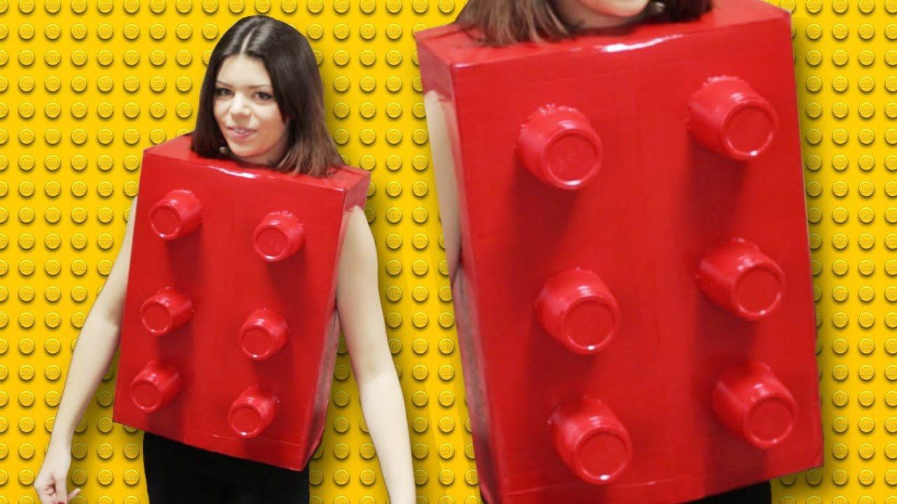 Best ideas about DIY Lego Costume . Save or Pin DIY LEGO COSTUME LAST MINUTE Now.