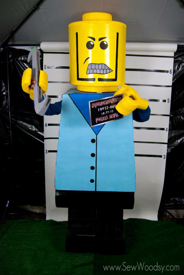 Best ideas about DIY Lego Costume . Save or Pin DIY Lego Costumes Sew Woodsy Now.