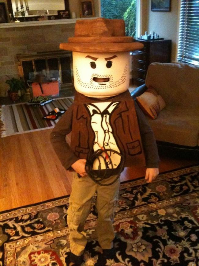 Best ideas about DIY Lego Costume . Save or Pin 15 DIY Halloween Costumes Perfect for Boys Spaceships Now.