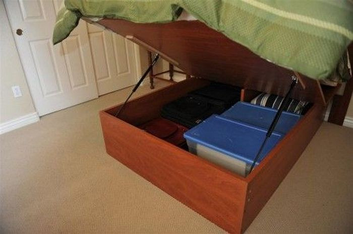 Best ideas about DIY Lift Storage Bed . Save or Pin Lift Top Storage Bed Now.