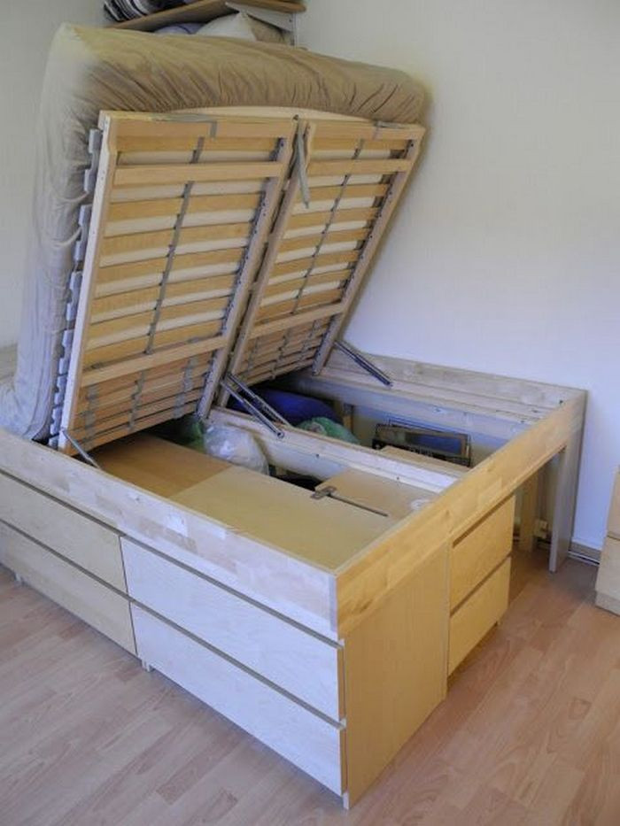 Best ideas about DIY Lift Storage Bed . Save or Pin DIY Lift Top Storage Bed Now.
