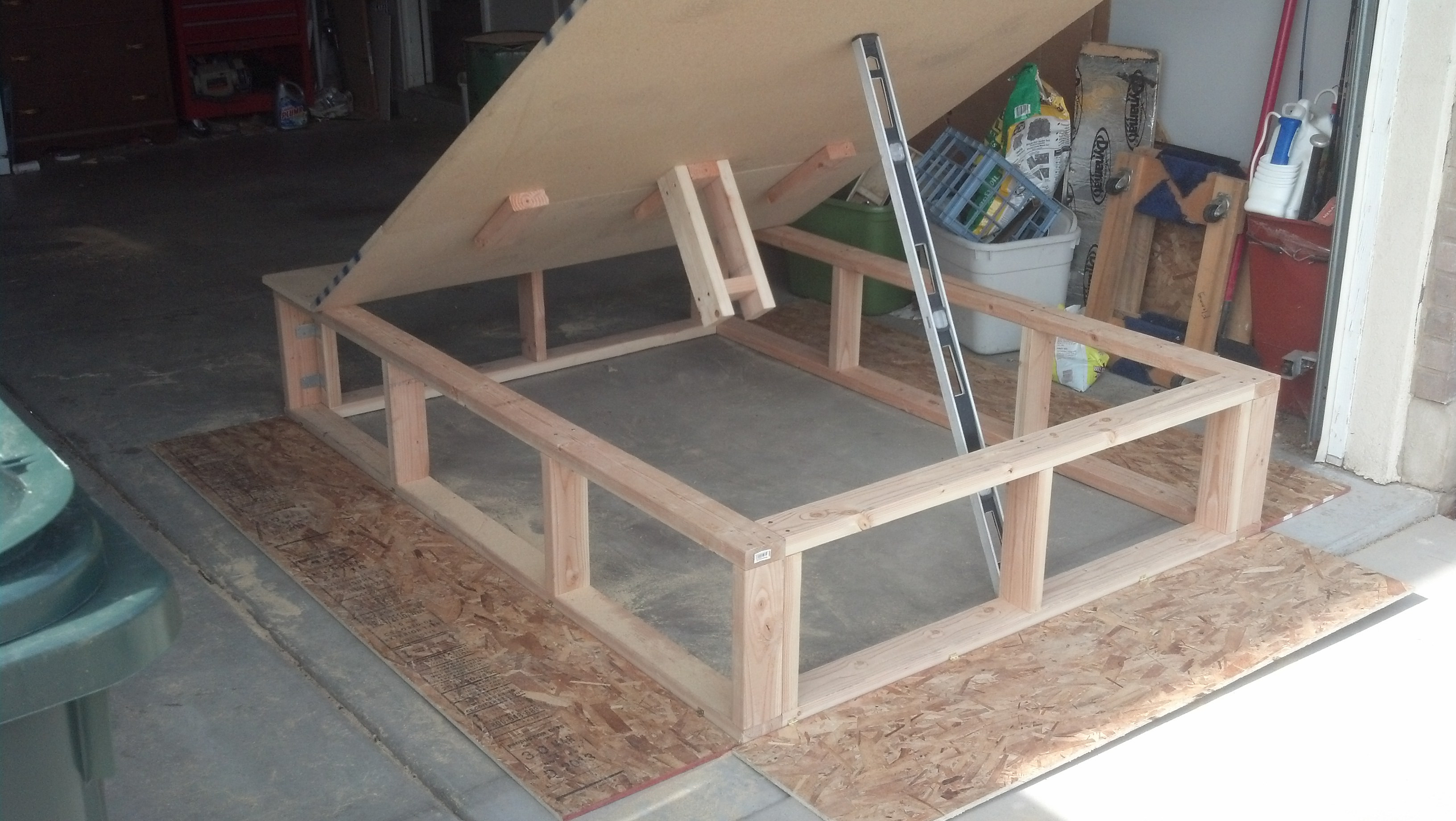 Best ideas about DIY Lift Storage Bed . Save or Pin DIY UNDER BED STORAGE Now.