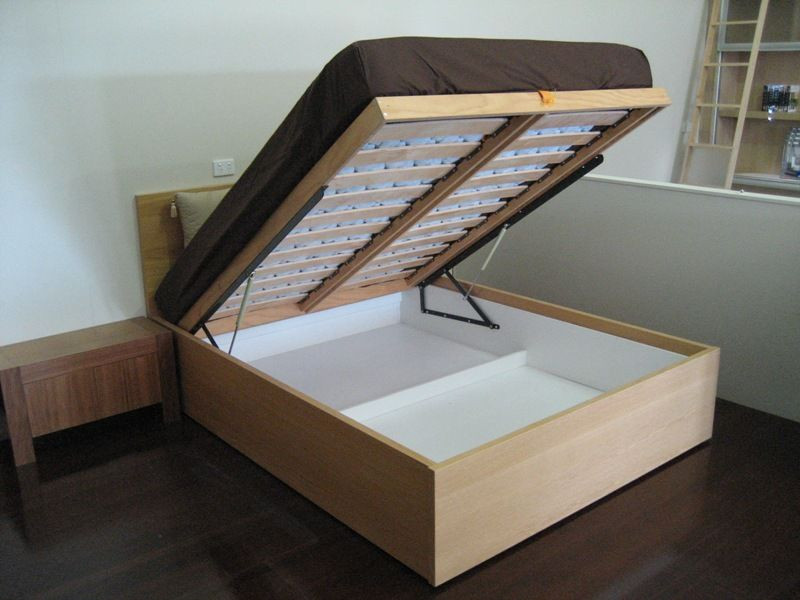 Best ideas about DIY Lift Storage Bed . Save or Pin IKEA Walls Beds Kits Now.