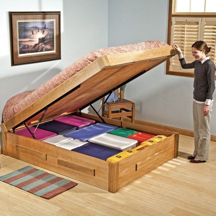 Best ideas about DIY Lift Storage Bed . Save or Pin Bed Lift Mechanisms Now.