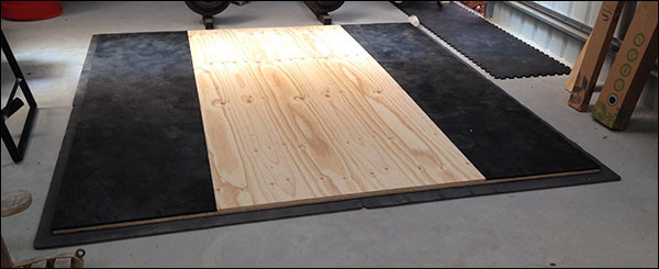 Best ideas about DIY Lifting Platform . Save or Pin All You Need For A Big 3 Powerlifting Garage Gym Now.
