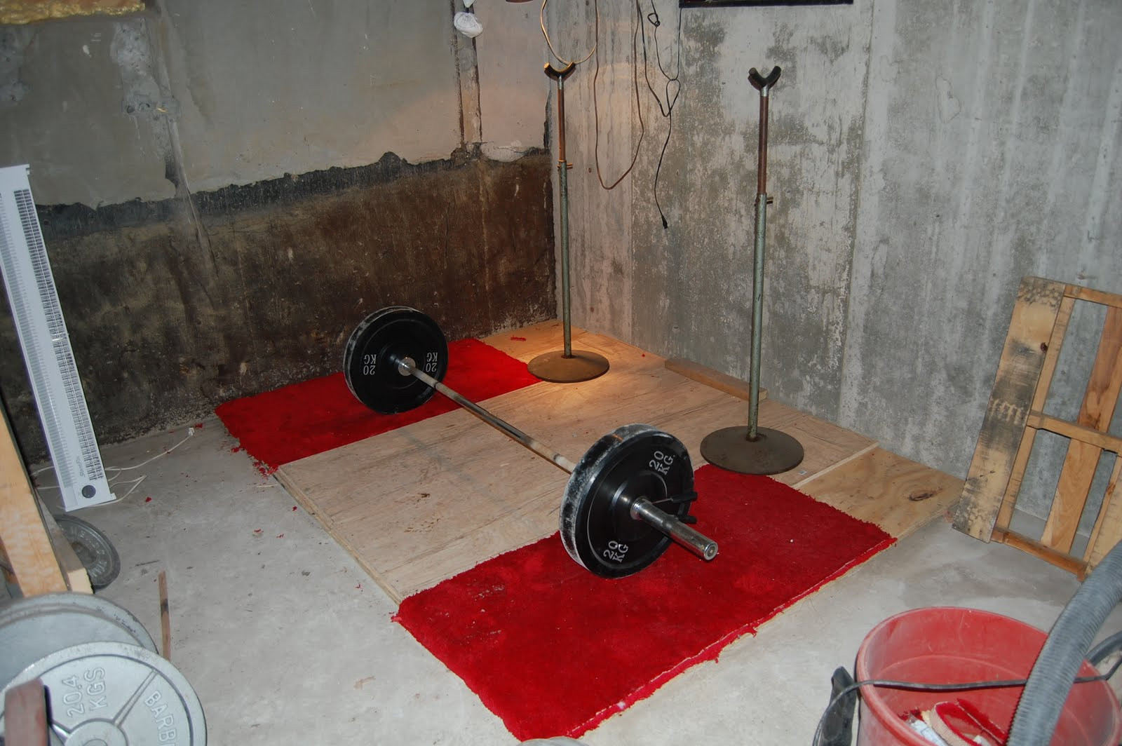 Best ideas about DIY Lifting Platform . Save or Pin Jonathan s Training Log DIY Building a Weightlifting Now.