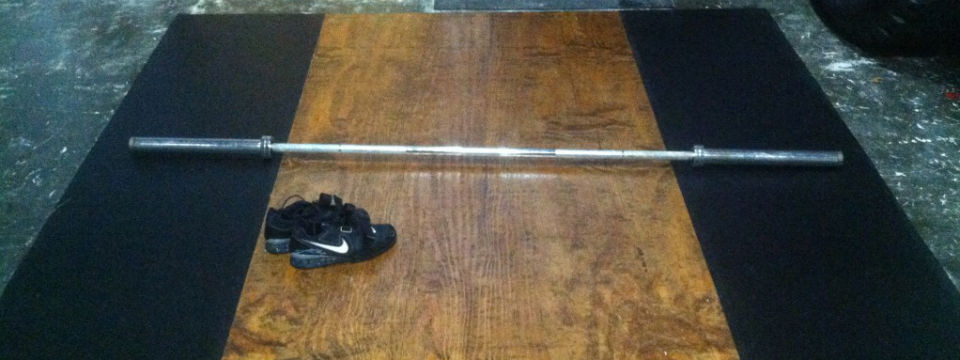 Best ideas about DIY Lifting Platform . Save or Pin DIY Build an Olympic Weightlifting Platform – The Now.