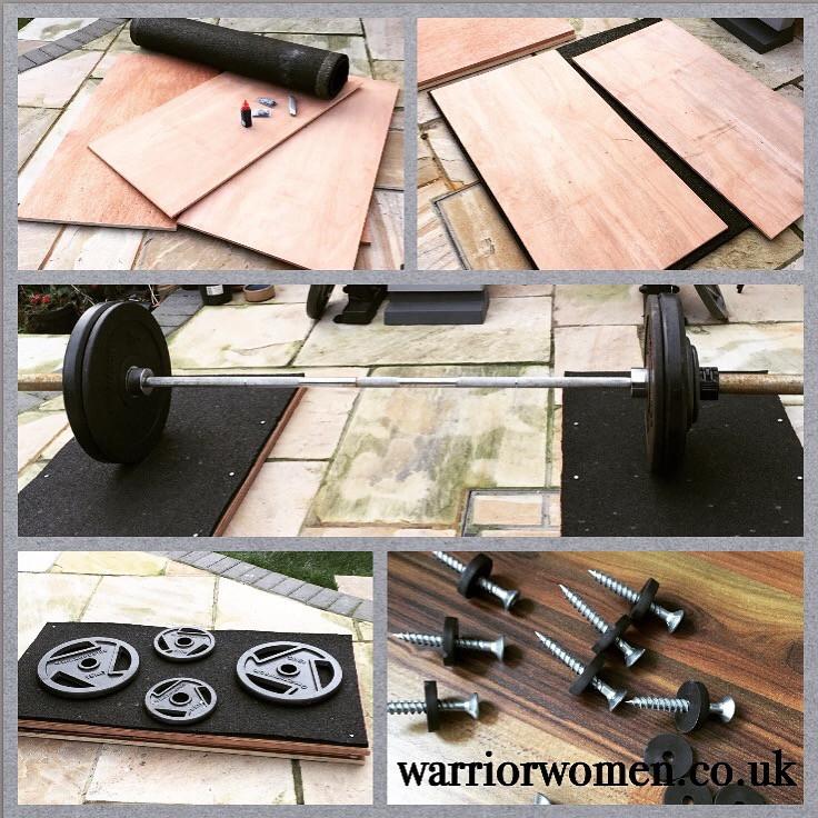 Best ideas about DIY Lifting Platform . Save or Pin DIY Portable Olympic Weightlifting Platform warriorwomen Now.
