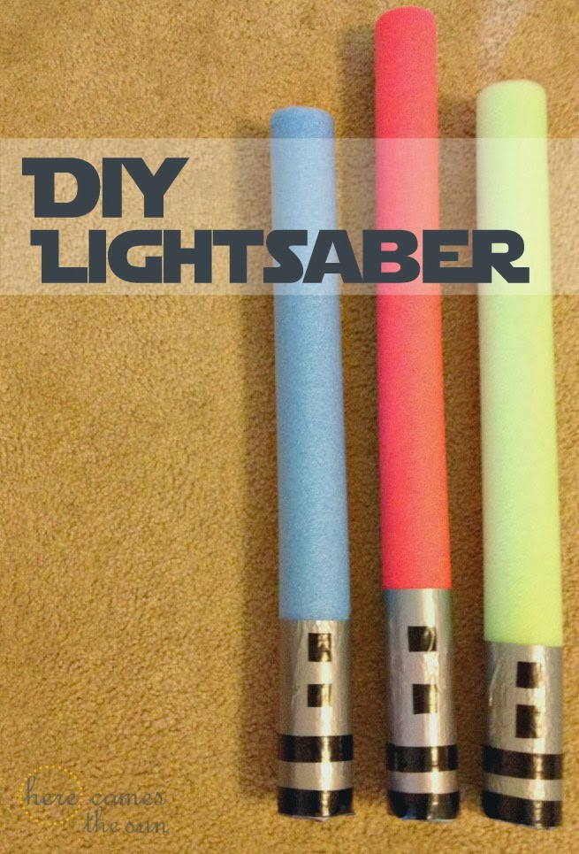 Best ideas about DIY Light Saber . Save or Pin Star Wars Party Games DIY Lightsaber Now.