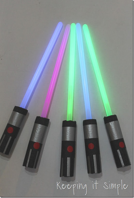 Best ideas about DIY Light Saber . Save or Pin Keeping it Simple Star Wars Light Saber Pencils Now.