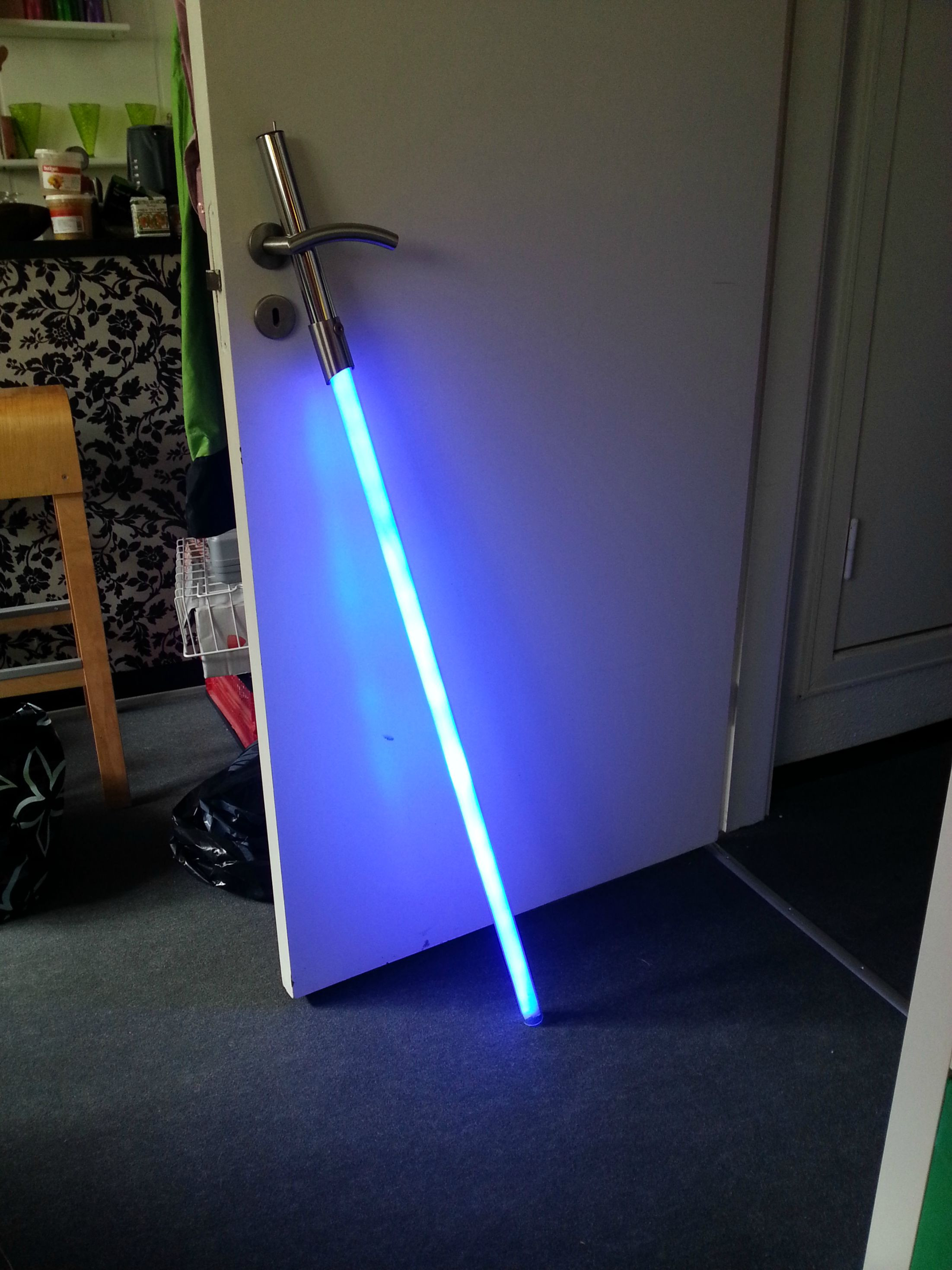 Best ideas about DIY Light Saber . Save or Pin The Force Is Strong With The Creator This DIY Now.