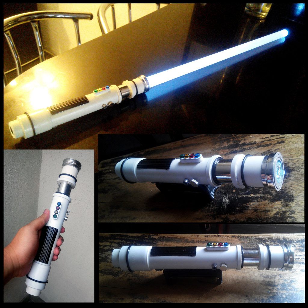 Best ideas about DIY Light Saber . Save or Pin DIY Stormtrooper Lightsaber by The Hand on DeviantArt Now.