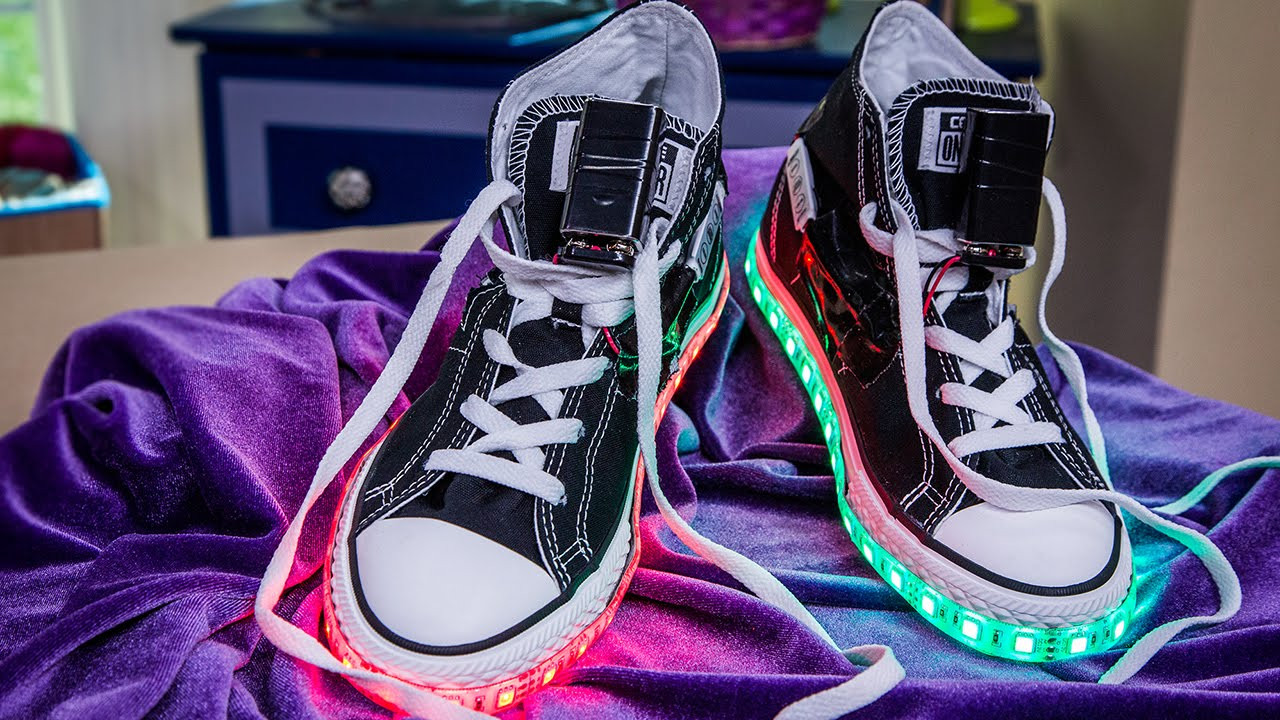 Best ideas about DIY Light Up Shoes . Save or Pin Home & Family DIY Light Up Shoes Now.