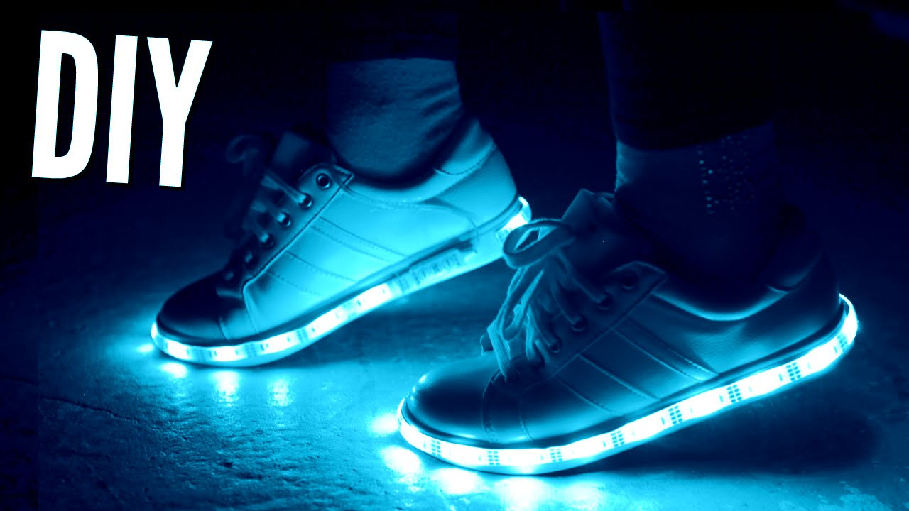 Best ideas about DIY Light Up Shoes . Save or Pin DIY Tumblr Light Up Sneakers Now.