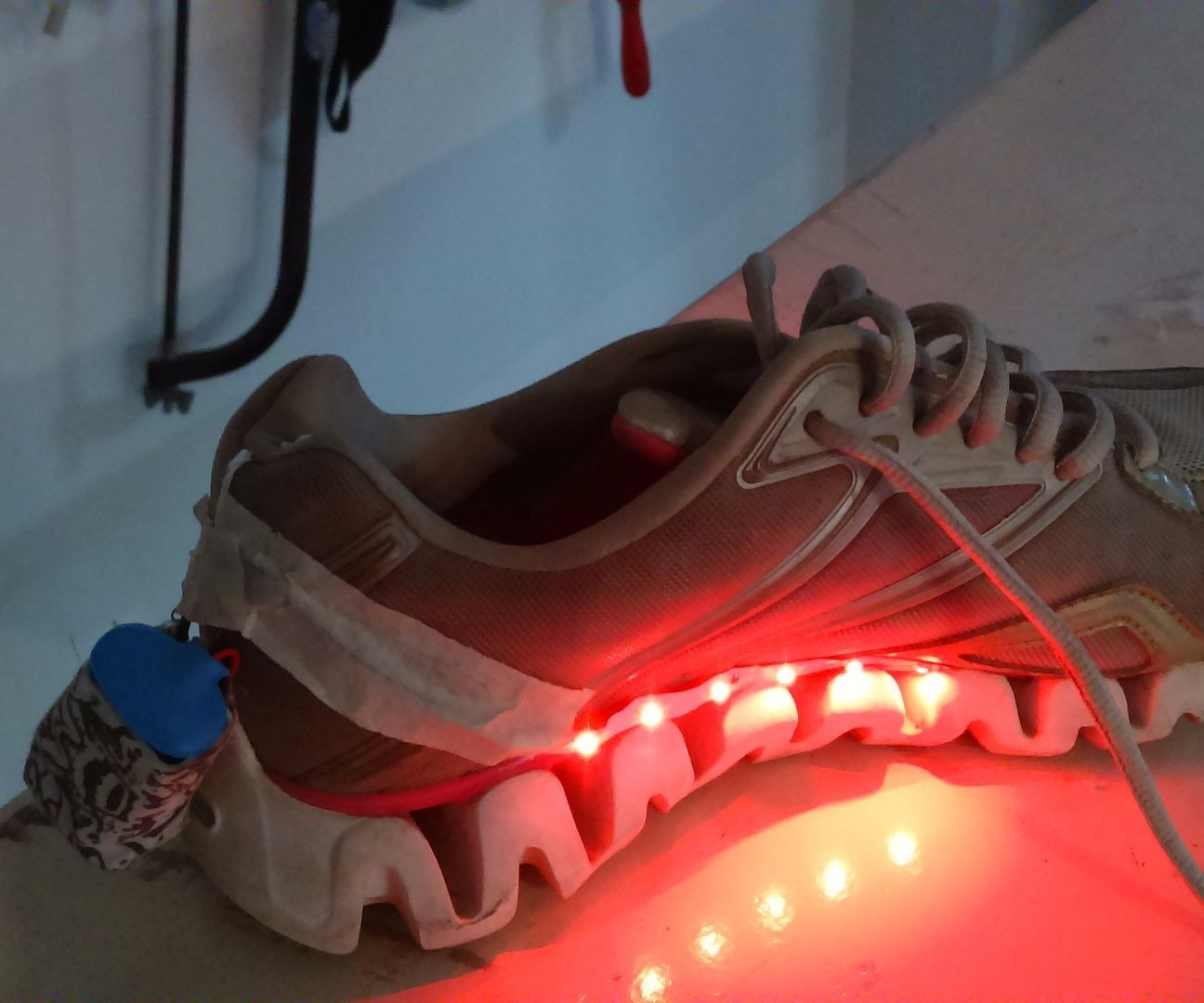 Best ideas about DIY Light Up Shoes . Save or Pin Cool DIY Light Up Shoes Now.