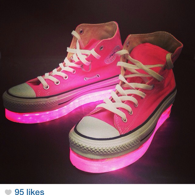 Best ideas about DIY Light Up Shoes . Save or Pin diy light up shoes Style Guru Fashion Glitz Glamour Now.