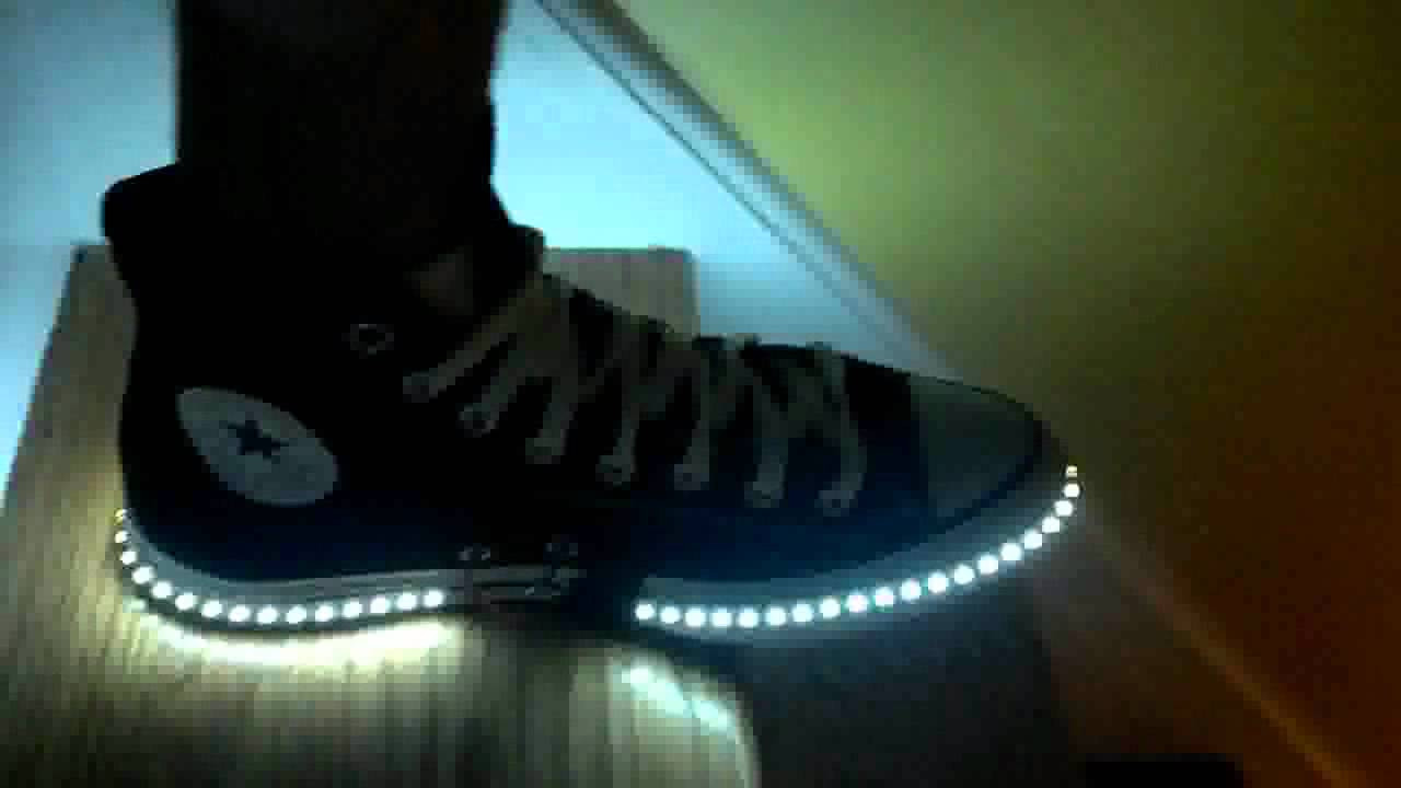 Best ideas about DIY Light Up Shoes . Save or Pin DIY LED shoes for adults Now.