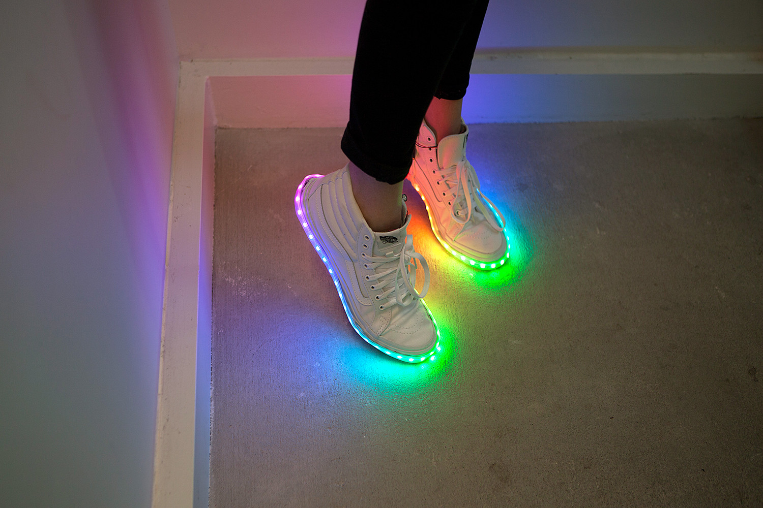 Best ideas about DIY Light Up Shoes . Save or Pin DIY Light Up Shoes learn sparkfun Now.