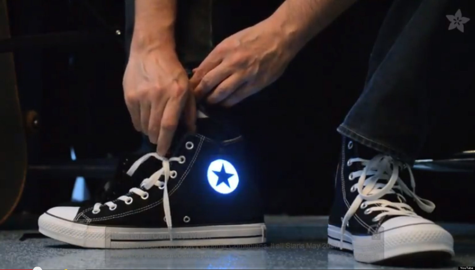 Best ideas about DIY Light Up Shoes . Save or Pin DIY Light Up Converse Trick Will Make You The Envy Now.