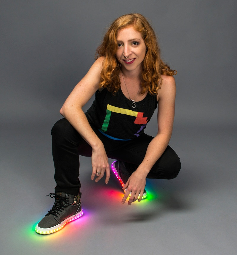 Best ideas about DIY Light Up Shoes . Save or Pin DIY High Tech Rainbow Kicks The High Top Sneakers That Now.
