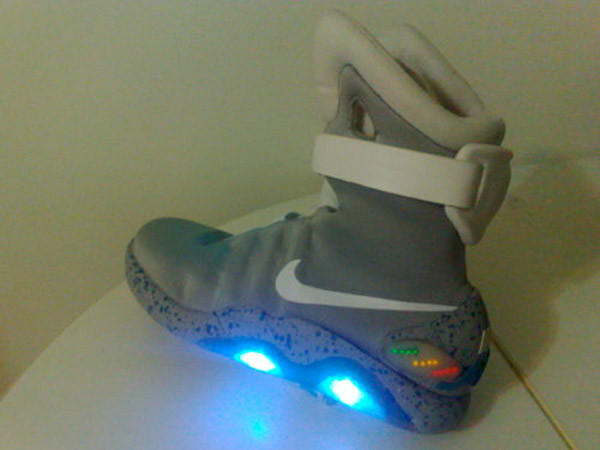 Best ideas about DIY Light Up Shoes . Save or Pin Guy Makes His Own Light up Nike MAGs Still No Power Laces Now.