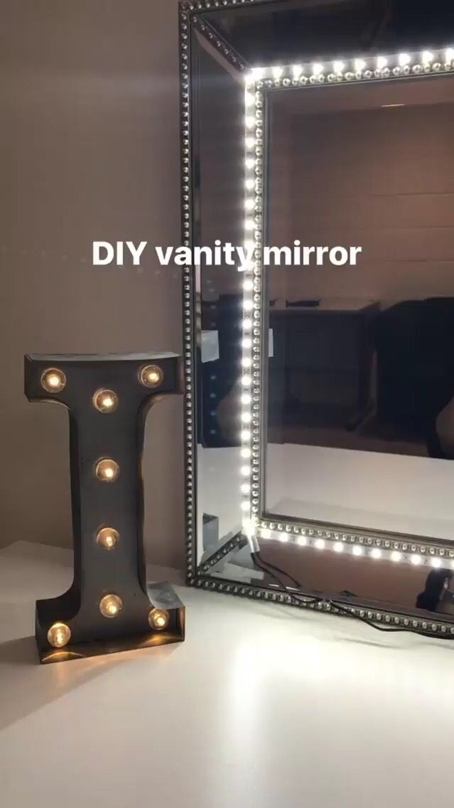Best ideas about DIY Lighted Mirror . Save or Pin Best 25 Make up mirror ideas on Pinterest Now.