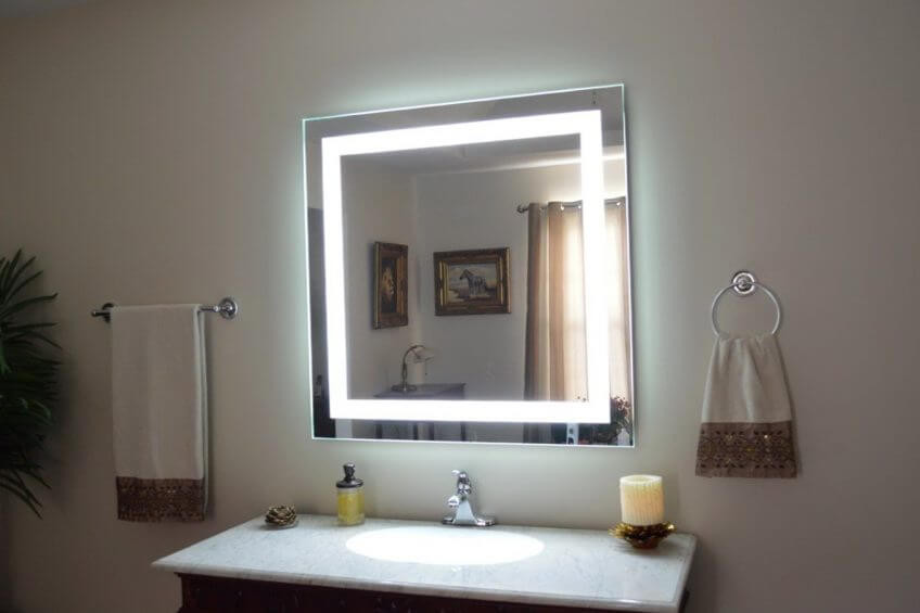 Best ideas about DIY Lighted Mirror . Save or Pin 17 DIY Vanity Mirror Ideas to Make Your Room More Beautiful Now.