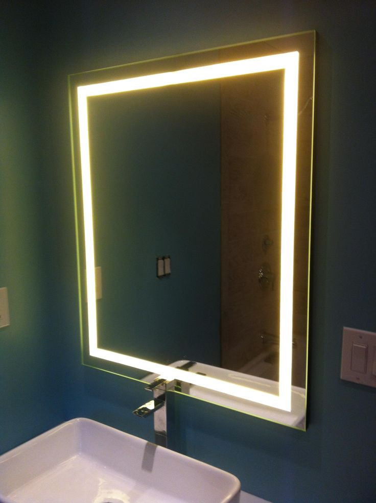 Best ideas about DIY Lighted Mirror . Save or Pin Great blog post with step by step instructions to DIY this Now.